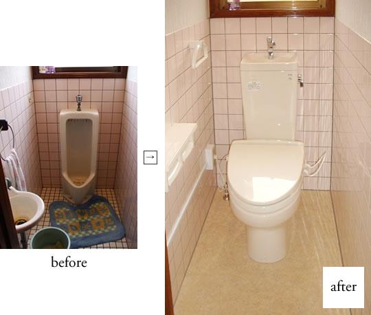 米子市Y様邸 トイレ改修工事