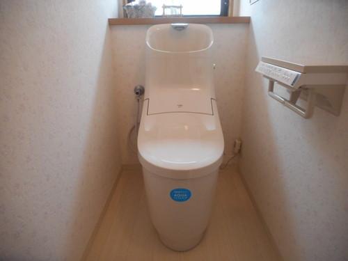 手洗いに技あり一体型トイレ