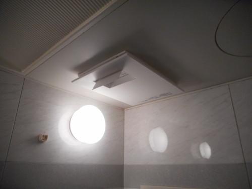 浴室換気乾燥暖房機でヒートショック対策
