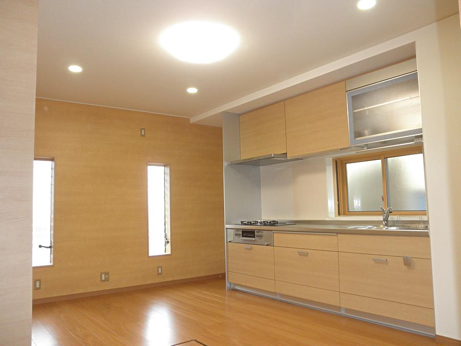 N様邸  ニトリの家具を使ってコーディネート♪大人の雰囲気、モダンなリビングに。