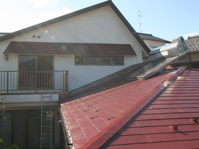 T様邸  屋根の塗替えで新築みたい!リフレッシュ!