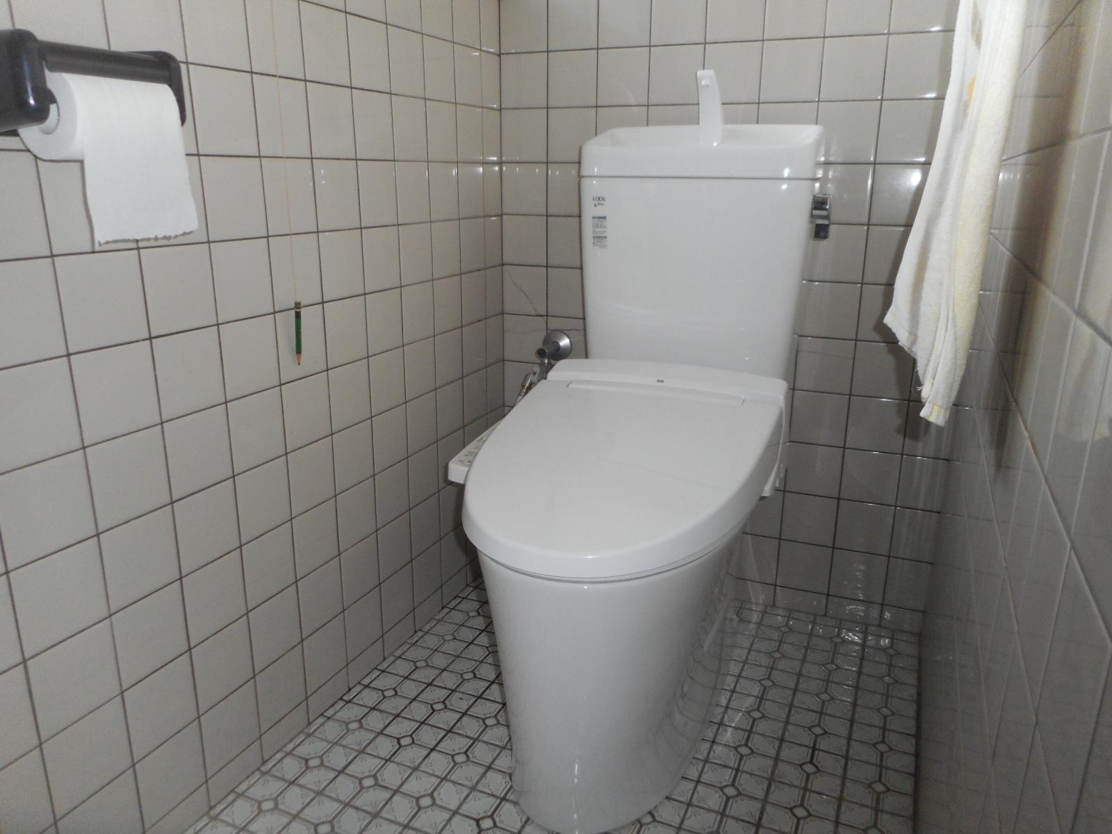 トイレ取替 LIXILアメージュZ