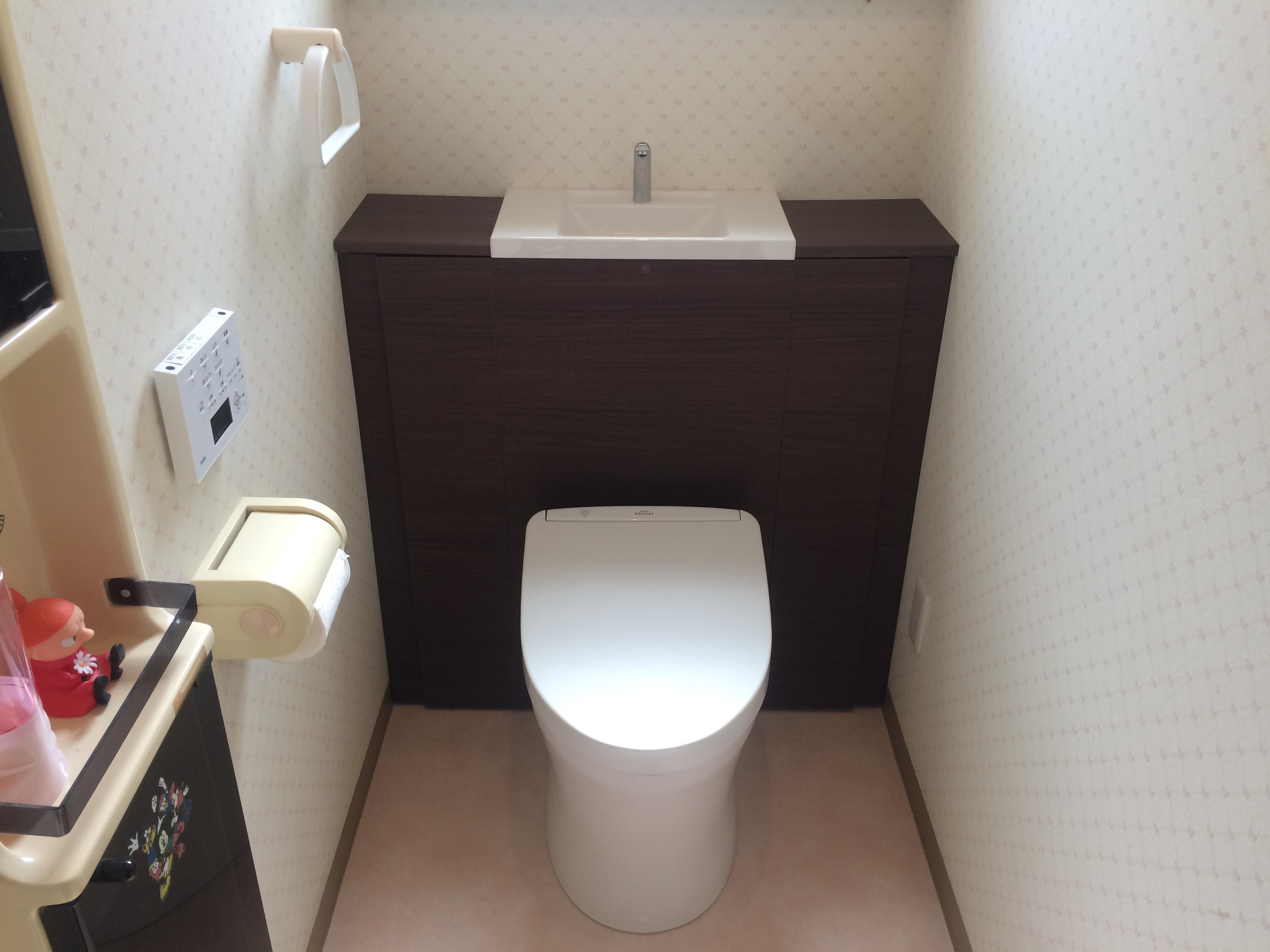 1階・2階トイレ同時取替