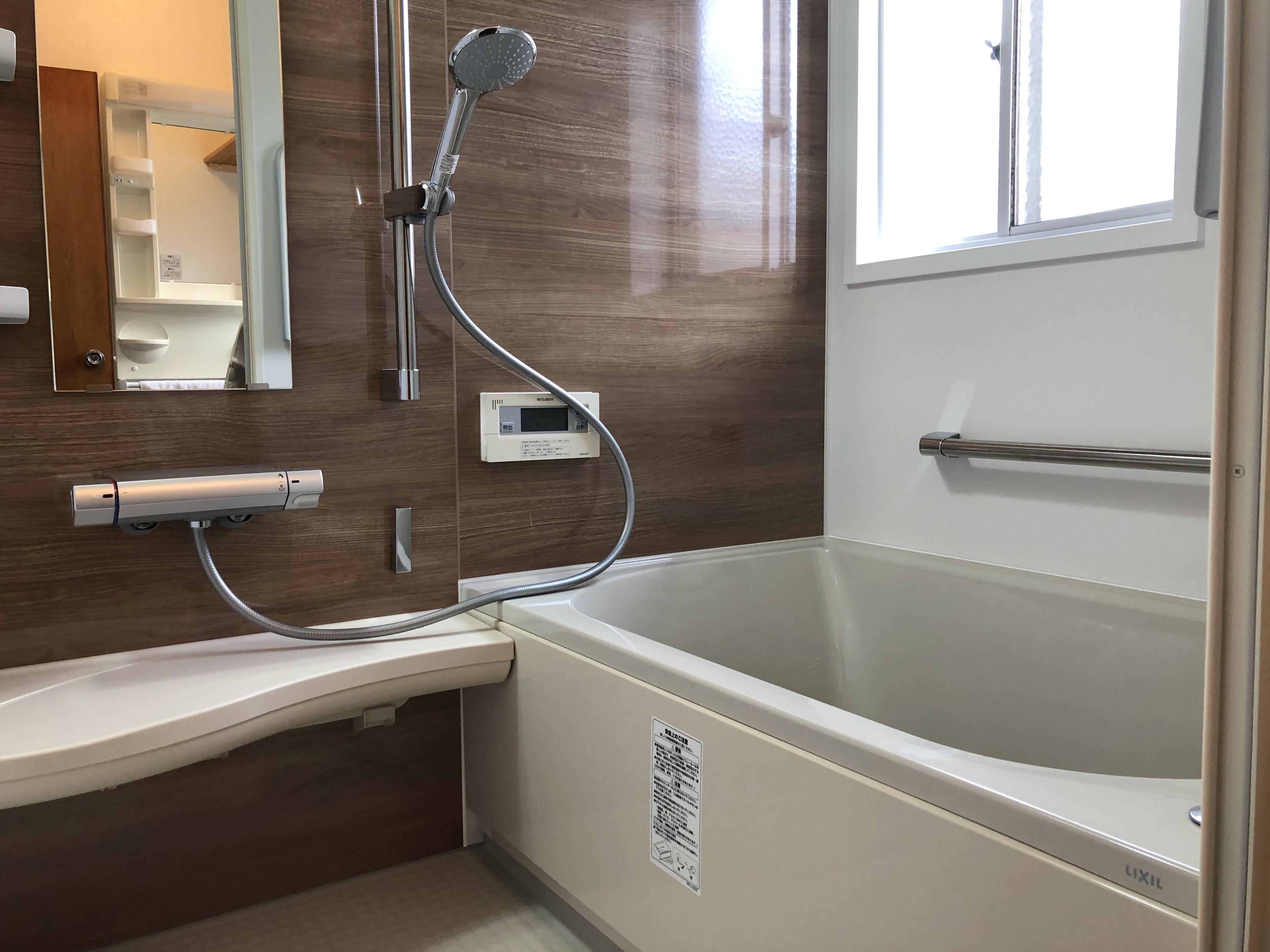 新しいお風呂はやっぱり気持ちいい!