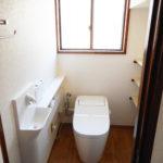 トイレ改修完成報告 画像