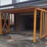 車庫建て替え工事 画像
