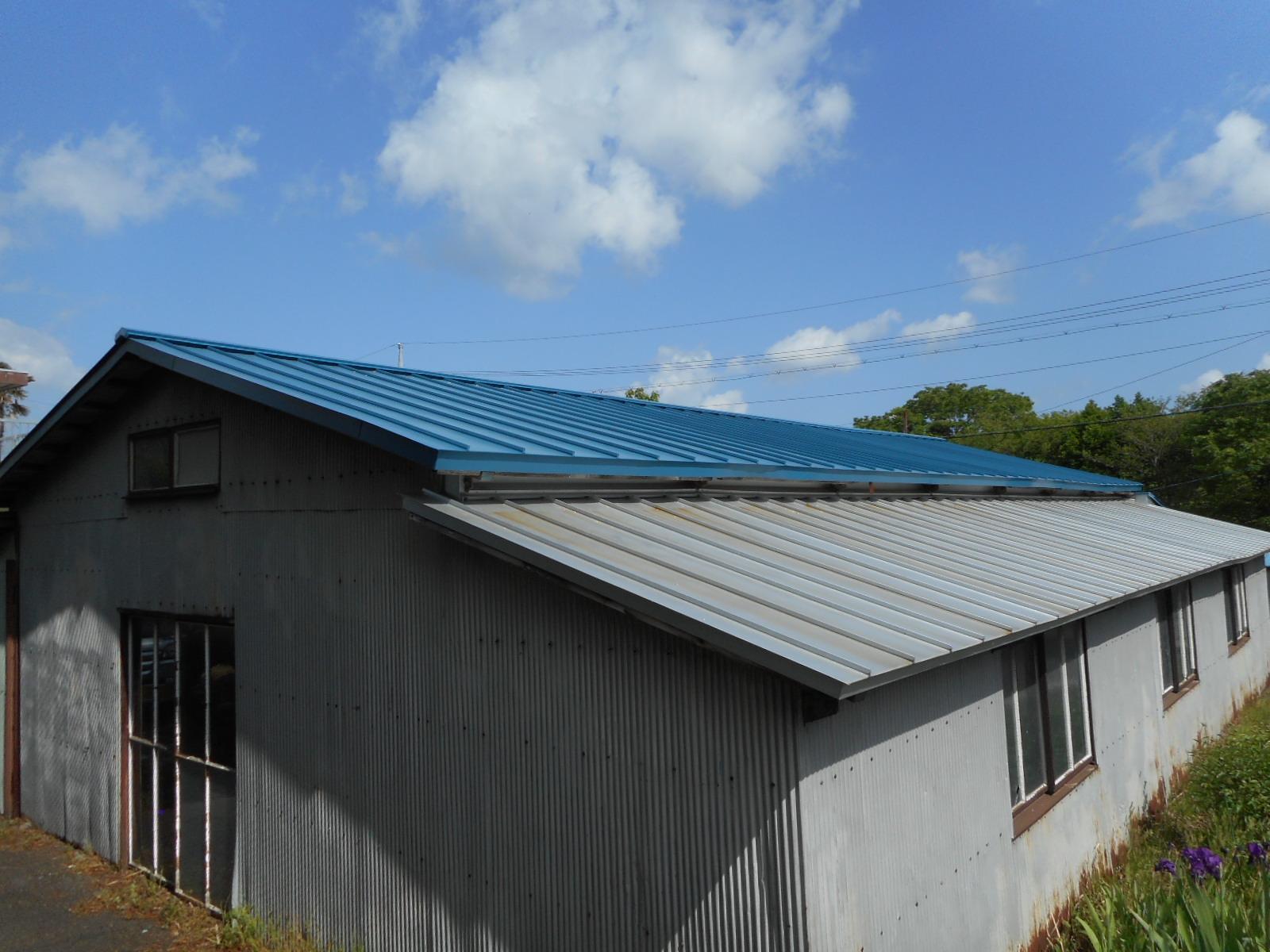 倉庫屋根修繕
